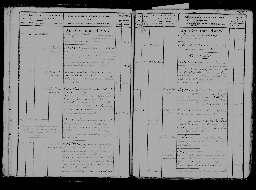 Liste chronologique des actes pour la période du 28 avril au 31 décembre 1821