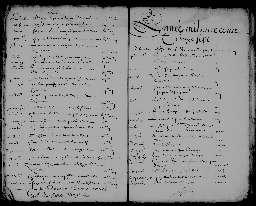 Liste chronologique des actes pour l'année 1627