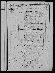 Liste chronologique des actes pour la période du 13 août au 31 décembre 1885