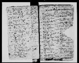 Liste chronologique des actes pour la période de janvier à décembre 1616