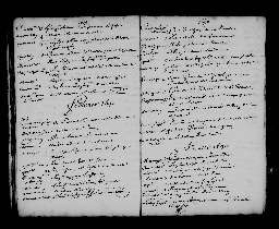 Liste chronologique des actes pour la période du 3 janvier au 31 décembre 1690