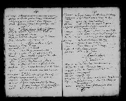 Liste chronologique des actes pour la période du 3 janvier au 31 décembre 1697