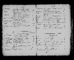 Liste chronologique des actes pour la période du 3 janvier au 31 décembre 1703