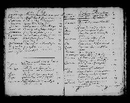 Liste chronologique des actes pour la période du 1er janvier au 24 décembre 1705
