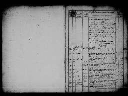 Liste chronologique des actes pour la période du 27 juin au 31 décembre 1864