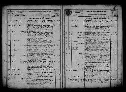 Liste chronologique des actes pour la période du 2 janvier au 31 décembre 1866
