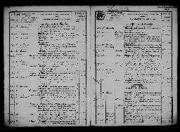 Liste chronologique des actes pour la période du 2 janvier au 13 mai 1872