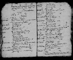 Liste chronologique des actes pour l'année 1602