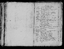 Liste chronologique des actes pour la période du 1er janvier au 31 décembre 1665