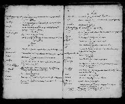 Liste chronologique des actes pour la période du 1er janvier au 22 octobre 1676