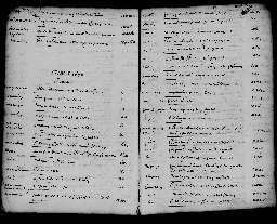Liste chronologique des actes pour la période du 1er janvier au 30 décembre 1670