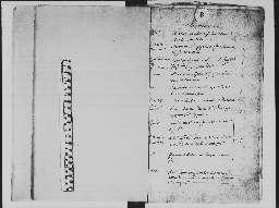 Liste chronologique des actes pour la période du 1 janvier au 31 décembre 1726