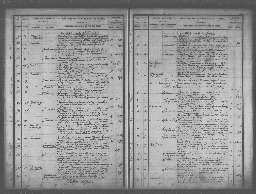 Liste chronologique générale des actes pour la période du 3 janvier au 29 décembre 1894