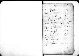 Liste chronologique des actes pour la période de juillet à décembre 1605