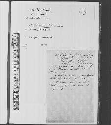 Lettres de Marie-Louise et de Louis.