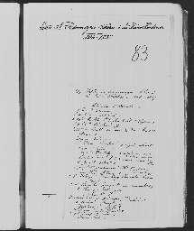 « Lettres de personnages célèbres à la reine Hortense. 1806-1837 ».