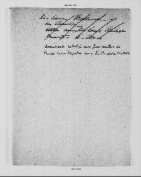 Projet de lettre d'Hortense à Jérôme à propos des fiançailles du prince Louis-Napoléon avec la princesse Mathilde (juillet 1836) ; projet de contrat de mariage.