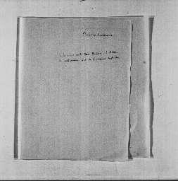 Notes d'Hortense, entre autres sur le divorce de Napoléon Ier.