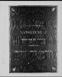 « A Sua Maestà Napoleone III, imperatore dei Francesi, indirizzo dei popoli delle province romane soggette ». Florence, janvier 1860.