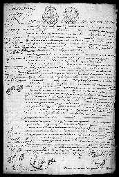 Inventaire après décès de François Besson.