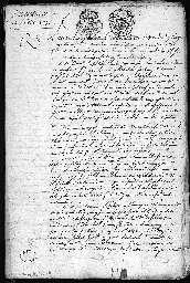 Inventaire après décès de Jeanne Brière.