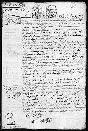 Inventaire après décès de Marie Catherine Walet, épouse de Thomas Montulay.