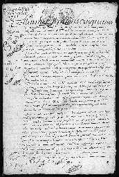 Inventaire après décès de Pierre Etienne Vernot.