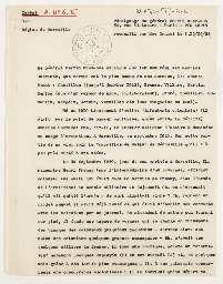 Témoignages du général Maurice Bertin-Chevance, recueillis par Marie Granet