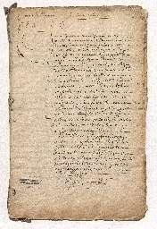 Contrat de mariage entre Louise-Marie de Bavière, fille de feu Édouard, prince palatin du Rhin, duc de Bavière, et d'Anne de Gonzague, princesse Palatineet Charles-Théodore Otto, prince de Salm (absent).