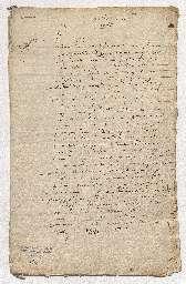 Testament de Louise Delfault suivi de deux codicilles dont le premier nomme Blaise Pascal exécuteur testamentaire.