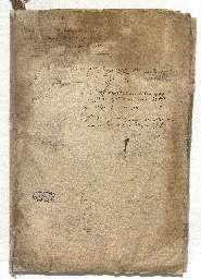 Testament de Louis de Rouvroy, duc de Saint-Simon portant transmission du titre de Grand d'Espagne à son second fils Armand-Jean de Saint-Simon duc de Ruffec.