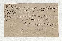 Inventaire après décès d'Etienne de Silhouette, ministre d'Etat, au château de Bry-sur-Marne.
