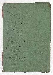 Contrat de mariage entre Louis Casimir de Morange, capitaine de dragons demeurant au 52 rue de l'Université, et Louise Dufaut, originaire de Saint-Domingue, veuve de Joseph Touson décédé à Santiago de Cuba.
