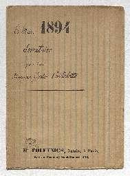 Inventaire après décès de Gustave Caillebotte, dans une maison située au Petit Gennevilliers, où le défunt est mort le 21 février 1894, à la requête de son frère, Martial Caillebotte, propriétaire demeurant au 9 rue Scribe, de son demi-frère Alfred Caillebotte, curé de l'église de Notre-Dame-de-Lorette et de son exécuteur testamentaire, Pierre Auguste Renoir, artiste peintre demeurant au 13 rue Girardon.
