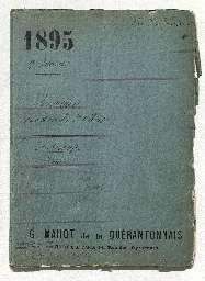 Inventaire après décès de Ferdinand Marie comte de Lesseps, dressé en son hôtel particulier au 11 avenue Montaigne.