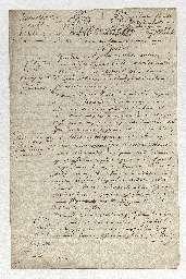 Donation par Louis Stanislas Xavier, Monsieur frère du roi, à Louis Charles de France, duc de Normandie, second fils de Louis, roi de France et Marie Antoinette, reine de France, du Duché de Brunoy.