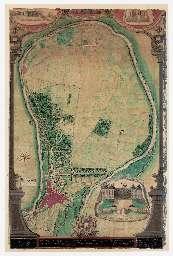 PRESQU'ILE DE SAINT-MAUR. Pl. général. Étienne Marlet, [1701]